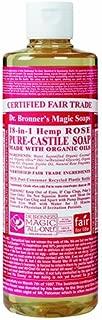 ドクターブロナー Dr.Bronner's Magic マジックソープ リキッドタイプ ローズ 472ml 日本国内正規品