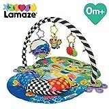 Lamaze Spieldecke 'Freddie das Glühwürmchen' – Babydecke ab 0 Monaten in ansprechenden Farben mit vielen bunten Spielsachen zur Förderung der motorischen Fähigkeiten