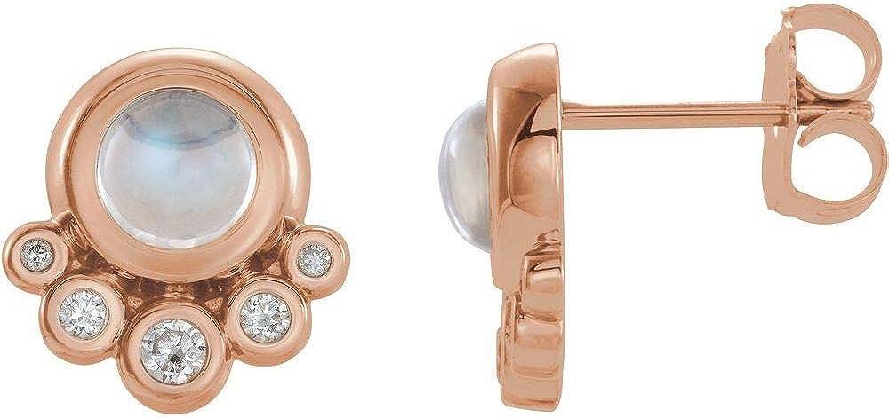 Solitaire 1/8 Cttw Diamond Stud Earrings (.13 Cttw)