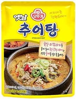Ottogi traditional Korean chueotang, loach in hot bean paste soup 500g 오뚜기 옛날 추어탕
