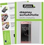 dipos I 2X Schutzfolie matt kompatibel mit Sony Xperia L1 Folie Bildschirmschutzfolie