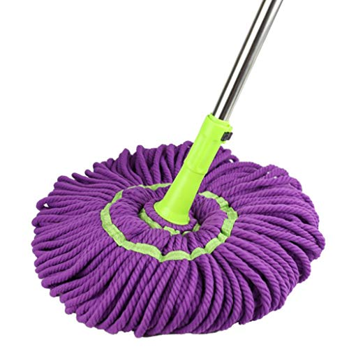 For Sale! QYLSH 360 ° Rotating Mop - Superabsorbent Mop Head/Aluminum Telescopic Pole, Multi-Functi...