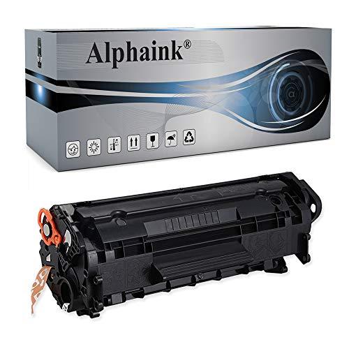 Alphaink Toner Compatibile con HP Q2612A per stampanti HP LaserJet 3015 AIO 1005 MFP 1010 3015 1012 1015 1018 1020 1028 1022 108SE 1022N 3020 3052 3030 M1319F MFP M1005 MFP 1022NW 3055 3030 AIO 3020 AIO 3050 M1319 MFP versione da 2000 copie