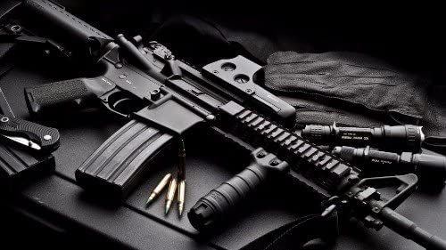 AR15 ASSAULT RIFLE GLOSSY POSTER PICTURE PHOTO AR 15 WEAPON AMMO 2ND AMMENDMENT