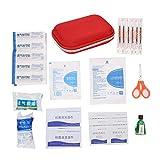 Okuyonic Kit de Ayuda de Emergencia, Kit de Supervivencia de Emergencia de fácil Transporte Que Ahorra Espacio para Ayuda de Emergencia al Aire Libre para el hogar