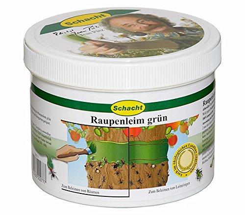 Schacht Raupenleim grün 500 g