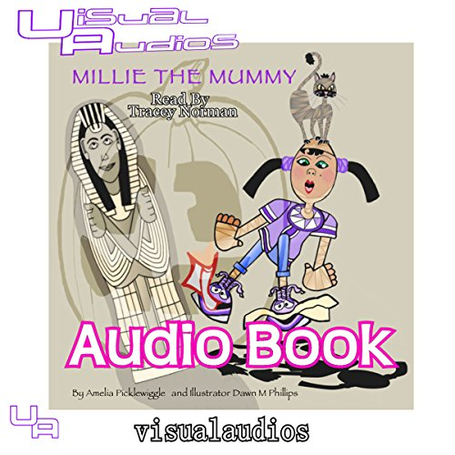 Millie the Mummy audiobook cover art