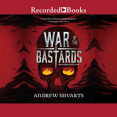 War of the Bastards     Royal Bastards, Book 3              De :                                                                                                                                 Andrew Shvarts                               Lu par :                                                                                                                                 Brittany Pressley                      Durée : 7 h et 45 min     Pas de notations     Global 0,0