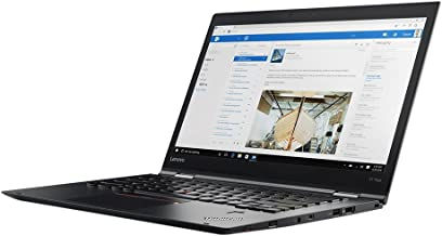 "Lenovo ThinkPad X1 Yoga 2nd Gen 20JD0015US 14"" FHD (1920 x 1080) IPS Touchscreen Display 2-in-1 Ultrabook - Intel Core i5-..."