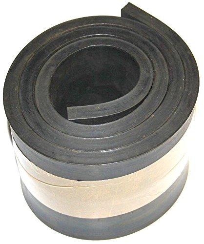 1500mm x 120mm x 8mm Gummiauflage, Gummistreifen Gummiplatte Gummimatte
