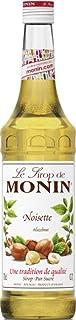 MONIN Hazelnut Syrup, Nutty Taste of Caramelised Hazelnut, Natural Flavours, Great for Mochas, Lattes, Smoothies, Shakes, and Cocktails, Vegan, Non-GMO, Gluten-Free, x, Hazelnut