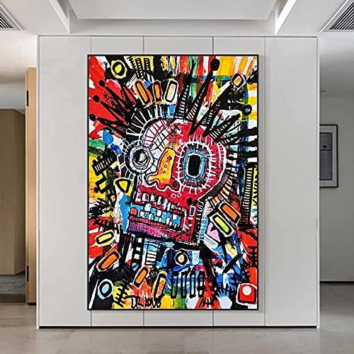 Pintura de pared 60x80cm Graffiti sin marco Color Craplk Love Poster y grabado Cuadro de arte de pared Cuadro de pared decorativo moderno