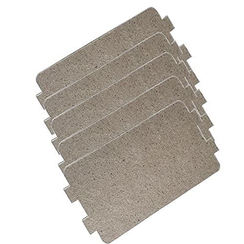 QYANGSHAN Piezas de Repuesto para Horno microondas eléctrico Placas de Hoja de Mica 4,2'x 2,5' (10,7 cm x 6,4 cm)