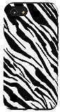 iPhone SE (2020) / 7 / 8 Zebra Print Animal Lover Gift Women Girl Case