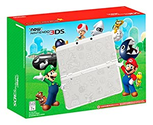 Nintendo New 3DS - Super Mario White Edition [Discontinued]