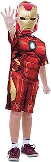 Regina 108463.1, Fantasia Avengers Homem Ferro Clássica Curta 2, Multicor