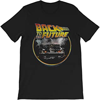 Shine Fan Back to The Future Delorean Marty-McFly-Emmett Brown-Lorraine-Baines Gift Mens Womens Unisex T-Shirt