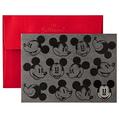 Hallmark Disney Mickey Mouse Blank Cards (10 Cards with Envelopes)