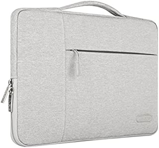 Mosiso çanta H252; Kılıf, MULTIFUNKTIONSH252; Lsen su sıçramalarına dayanıklı dizüstü bilgisayar çantası notebook çantası & kılıfı Aktentaschen el çantası Kasten ZUS228; Tzlichem depolama alanı polyester SCHUTZH252; Kılıf, , Gri - MO-15-Polyester-MB-Gray