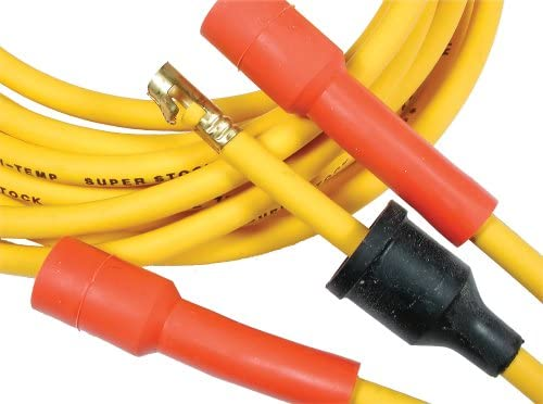 Max 78% OFF ACCEL 4043 8mm Super Stock Graphite Yellow Custom Wire low-pricing - Set