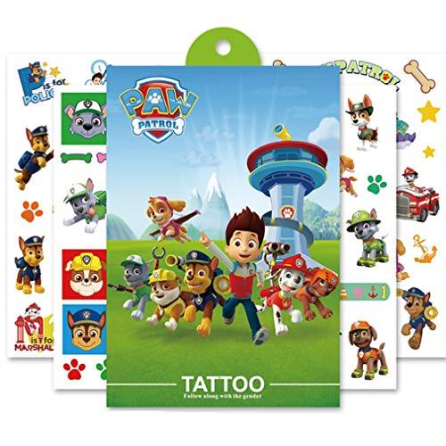 Eholder Temporäre TattoosKinder Superheld, Wasserfest Klebe Tattoo Kinder, Kindertattoos Junge Mädchen Klebetattoos Kinder Superheros Aufkleber Sticker (Typ 5)