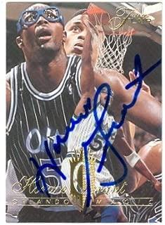 Autograph Warehouse 21049 Horace Grant Autographed Basketball Card Orlando Magic 1995 Fleer Flair No. 276