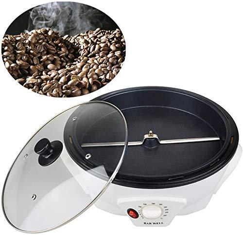 TTLIFE Tostador de café de diseño Biselado de Alta Capacidad, secador de Frutas secas con Ajuste de Temperatura, cafetera de Cereales Adecuada para Hornear café, Granos crudos, té, Granos y sésamo