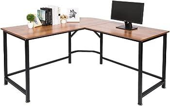 TOPSKY L-Shaped Desk Corner Computer Desk 55