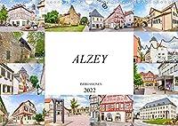 Alzey Impressionen (Wandkalender 2022 DIN A3 quer): Eine Auswahl faszinierender Bilder der Stadt Alzey (Monatskalender, 14 Seiten )
