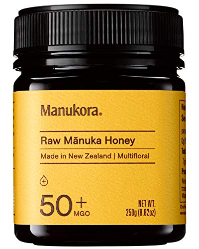 Manukora MGO 50+ Multifloral Raw Mānuka Honey - Authentic Non-GMO New Zealand Honey, Traceable from Hive to Hand