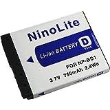 NinoLite NP-BD1 NP-FD1 互換 バッテリー ソニー DSC-T2 DSC-T200 DSC-T70 DSC-G3 等対応 npbd1_t.k.gai