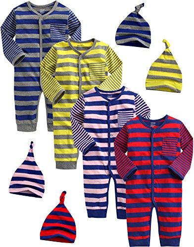 Vaenait Baby - Body - Bébé (garçon) 0 à 24 Mois Multicolore Mehrfarbig 86-92 cm