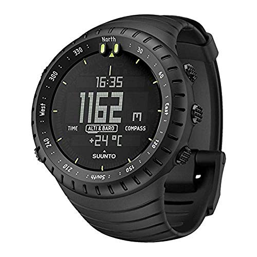 SUUNTO Core All Black Military Men's Outdoor Sports Watch - SS014279010 Change Time Casio G-shock Watch