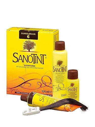 SANOTINT® Haarfarbe Nr. 06 ?Dunkelbraun? (125 ml)