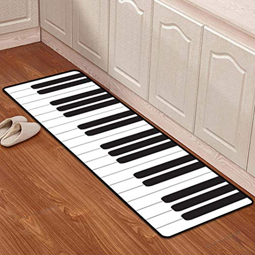 Mats Kitchen Bathroom Door Rugs for Kitchen Absorbing Carpet Bedroom Bedside Carpet Anti-Slip Tapete