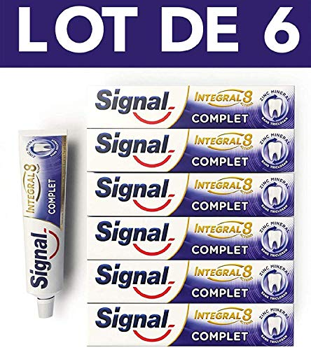 Signal Integral 8 Dentifrice Protection Complète 48h (Lot de 6x75ml)