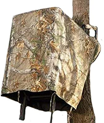 Hunters Specialties Easy Fit Treestand Skirt, Realtree Xtra