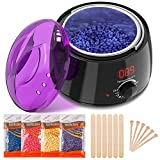 Wax Heater, Wax Warmer Professional Wax Pot for Hair Removal Waxing Kit Wax