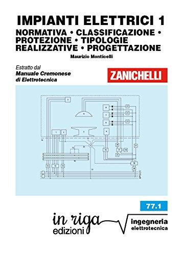 IMPIANTI ELETTRICI 1: NORMATIVA • CLASSIFICAZIONE • PROTEZIONE • TIPOLOGIE REALIZZATIVE • PROGETTAZIONE Coedizione Zanichelli - in riga (Ingegneria Vol. 81)