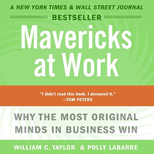 Mavericks at Work audiobook cover art
