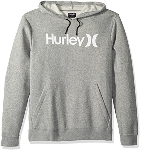 Hurley Men's Surf Check One & Only Pullover Hoodie, Rainforest//Black, L