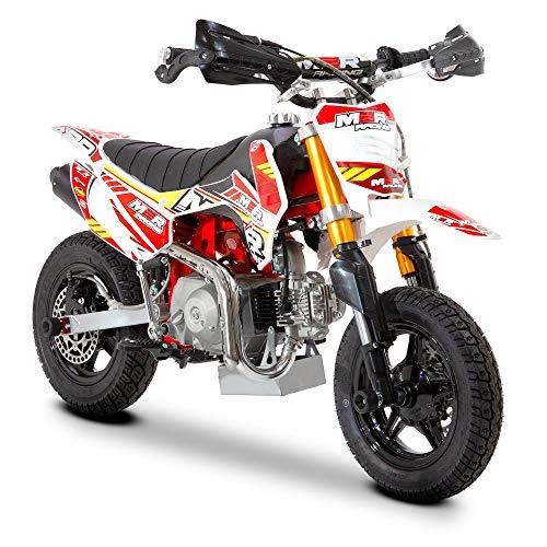 HQ Racing 90R 90cc 62cm Semi Automatic Mini Supermoto Pit Bike, Unspecified