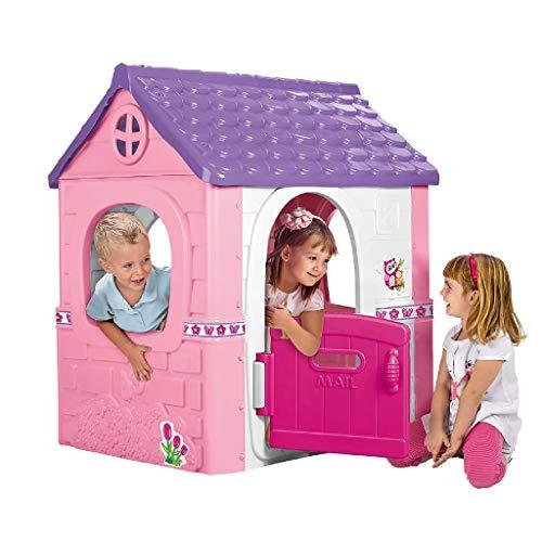 Feber- Fantasy House Casetta da Gioco, Rosa, Grande 800012222