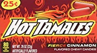 Hot Tamales (1 Box of 24 - .78oz Individual Packs) [並行輸入品]