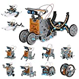 MAN NUO STEM Toy Solar Robot Kit 12-in-1 Learning Science Building Toys|Educational Science Kits...