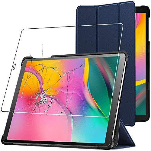 custodie tablet 10.1 ebestStar - Cover Compatibile con Samsung Galaxy Tab A 10.1 2019 T515 Custodia Protezione Slim Smart Case Pelle PU Sottile Funzione Supporto