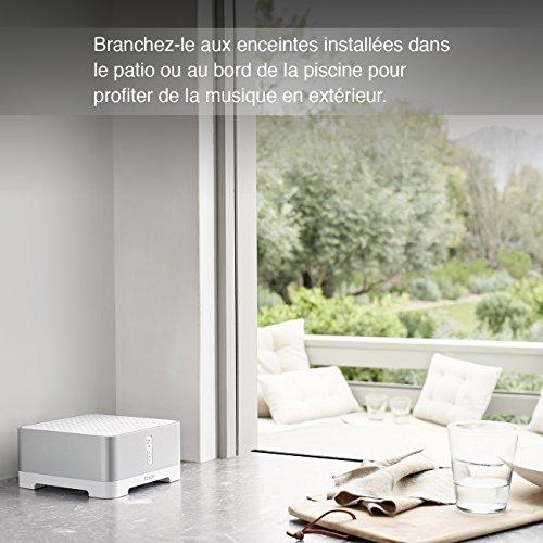 Sonos CONNECT:AMP I Verwandelt vorhandene kabelgebundene Lautsprecher in Sonos Streaming Speaker (grau) - 5