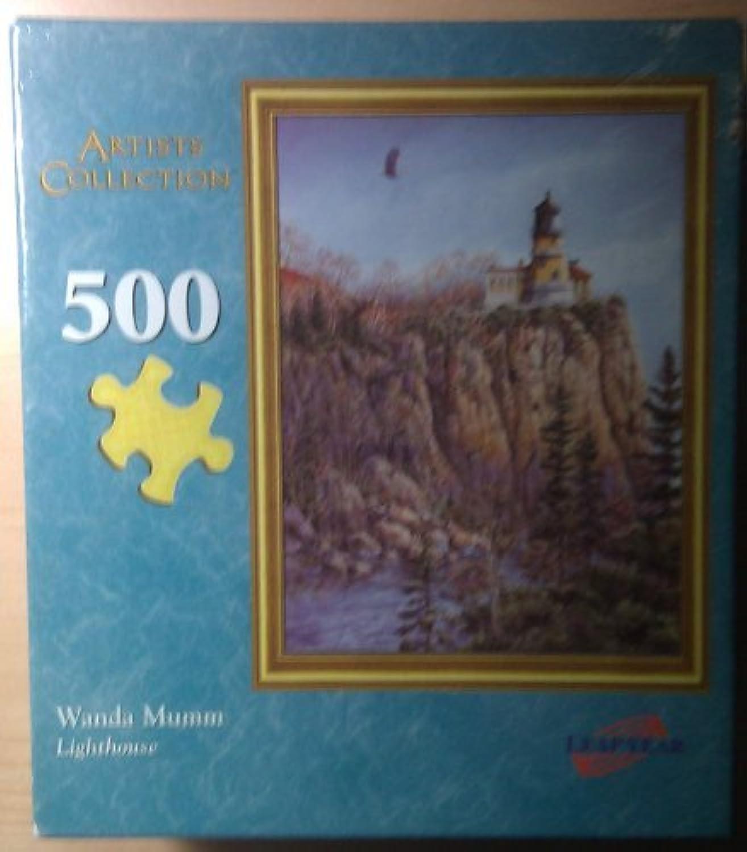 Wanda Mumm Lighthouse 500 Piece Puzzle by Leap Year