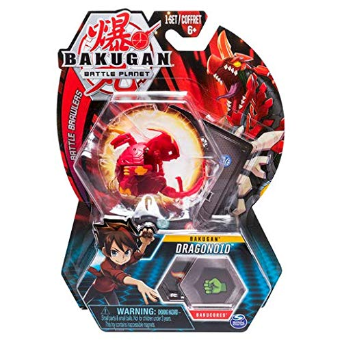 BAKUGAN Spin Master Battle Planet – Dragonoid – 5cm Battle Brawlers und Sammelkarte