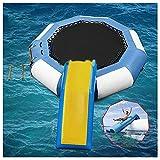 Amiao Aufblasbar Wasser Türsteher 10ft Aufblasbar Wasser Trampolin Prallen Schwimmen Plattform mit...